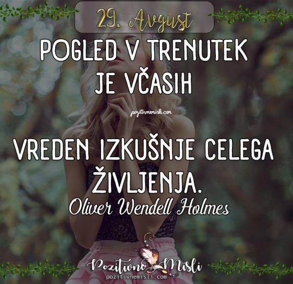 29. avgust - 365 misli za vsak dan