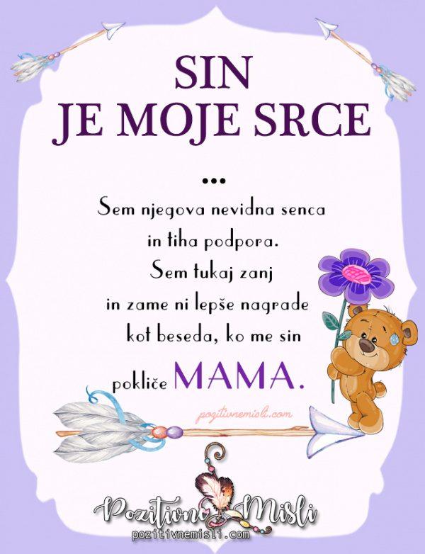 Sin - lepa misel - misli za sina