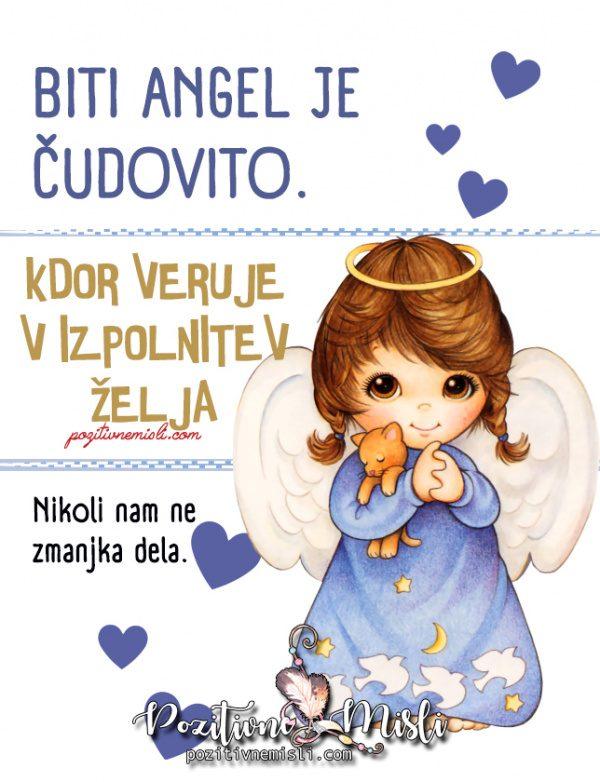 Biti Angel je čudovito - Lepe misli o Angelih