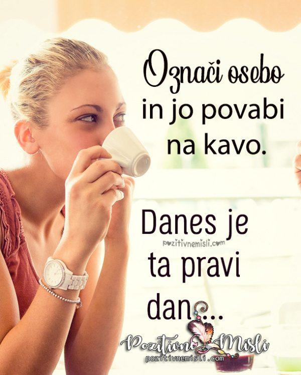 KAVA - Označi osebo in jo povabi na kavo