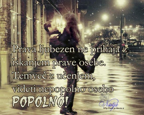 Ljubezen - popolna oseba