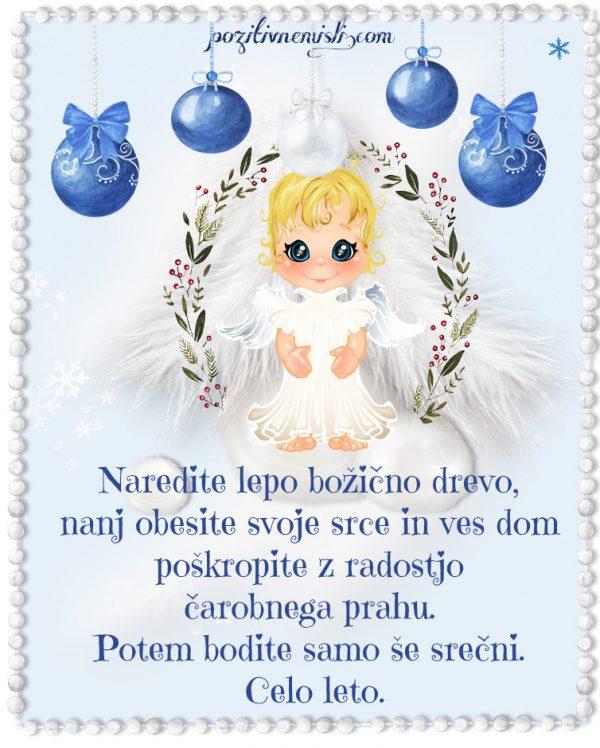 Božič v srcu - Naredite lepo božično drevo