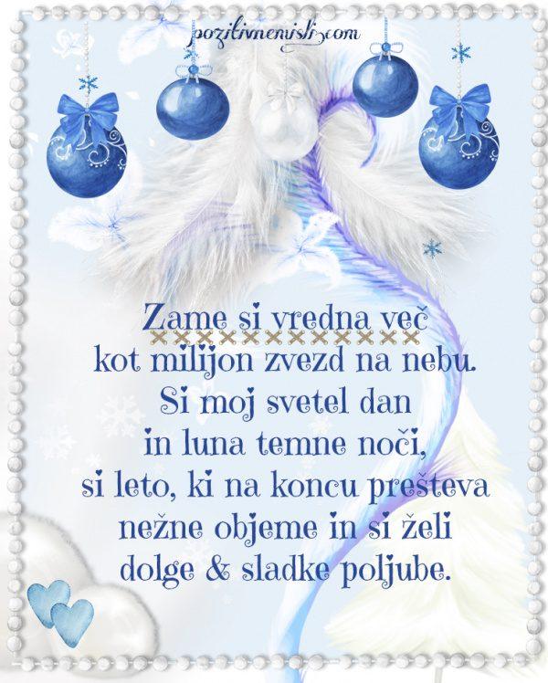 Adventni koledar - Božič v srcu - Zame si vredna več kot milijon zvezd