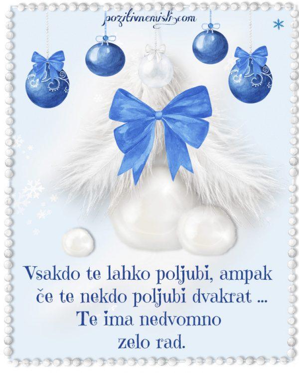 Božič v srcu - Vsakdo te lahko poljubi