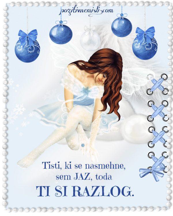 Adventni koledar - Božič v srcu - Tisti, ki se nasmehne