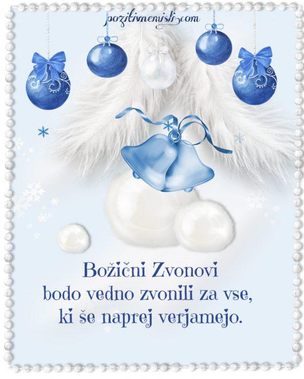 Božič v srcu - Božični Zvonovi bodo vedno zvonili