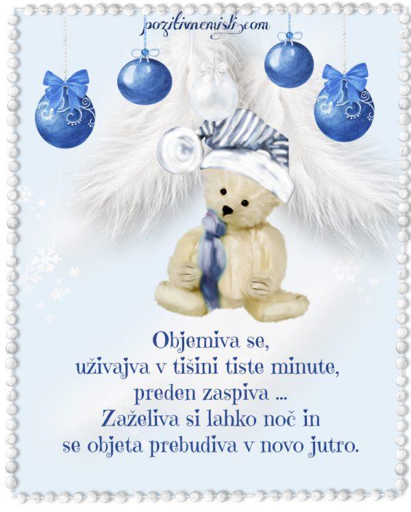 Božič v srcu - Objemiva se, uživajva v tišini tiste minute