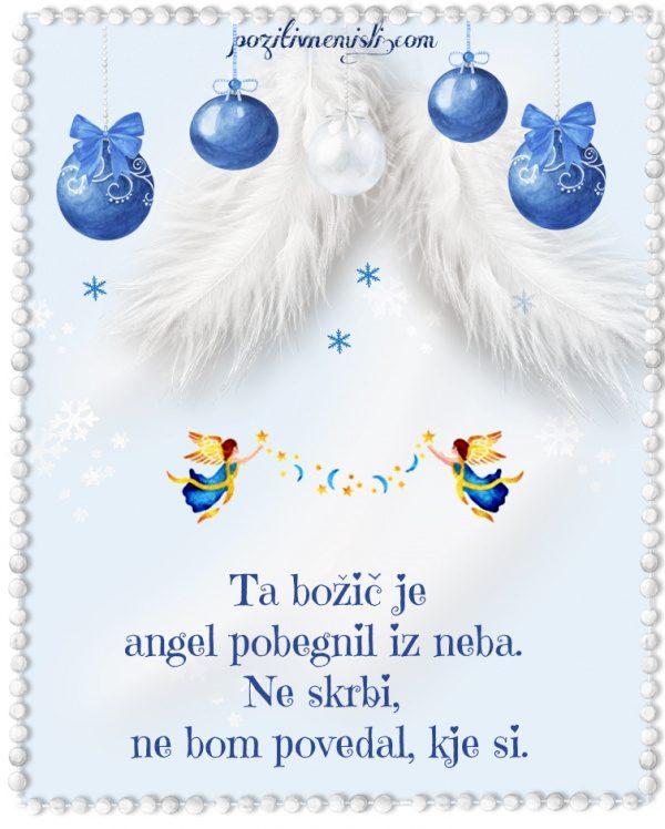 Božič v srcu - Ta božic je angel pobegnil z neba