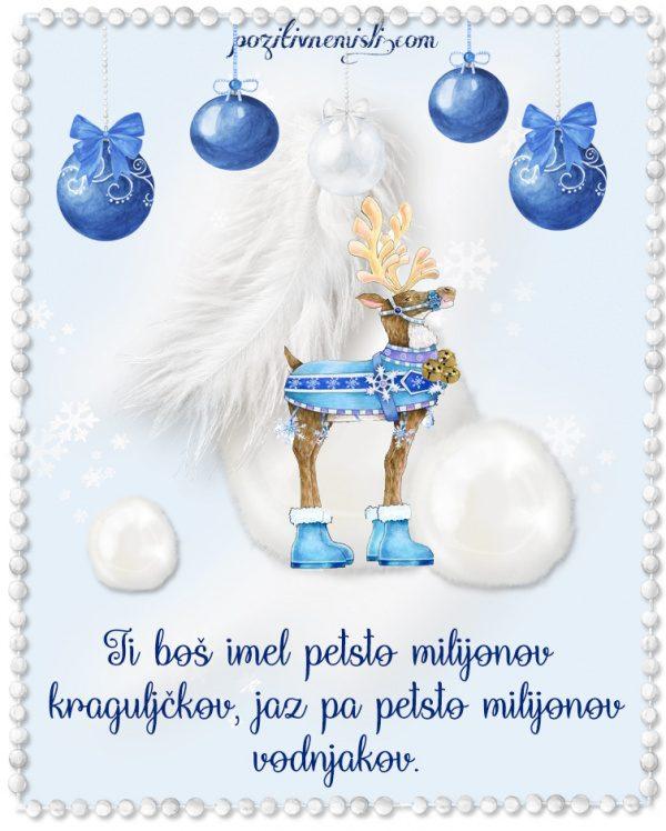 Božič v srcu - Adventni koledar - Ti boš imel kraguljčke