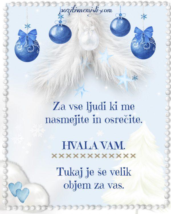 Božič v srcu - Adventni koledar - Za vse ljudi ki me nasmejite