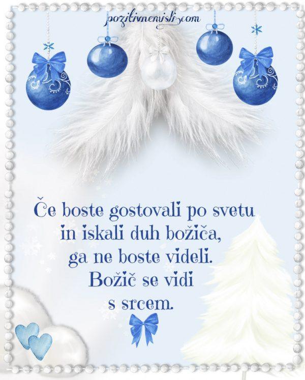 Božič v srcu - Adventni koledar - Če boste gostovali po svetu in iskali  božič