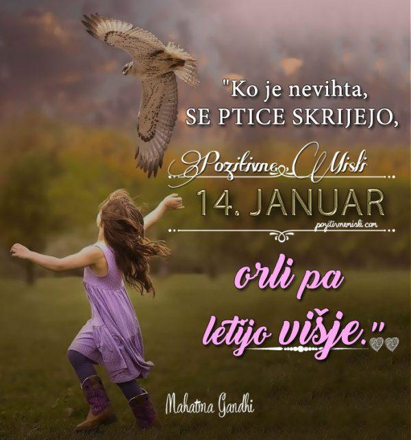 14. januar - 365 misli Koledar lepih misli o življenju