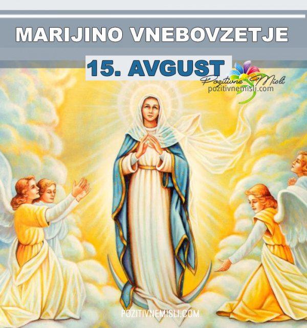 15. avgust - Marijino vnebovzetje