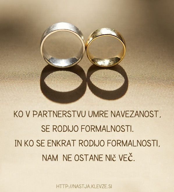 Konec partnerstva - ločitev