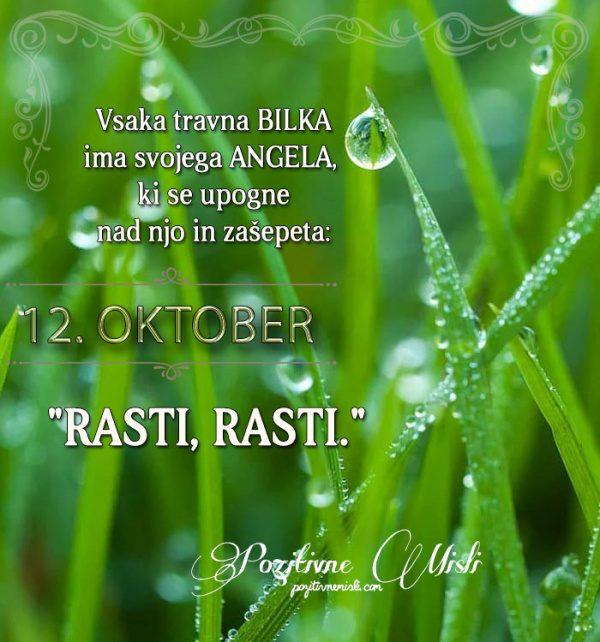 12. oktober - 365 misli koledar lepih misli o življenju