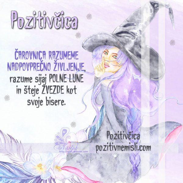 Noč čarovnic - Čarovnica razumeme nadpovprečno življenje