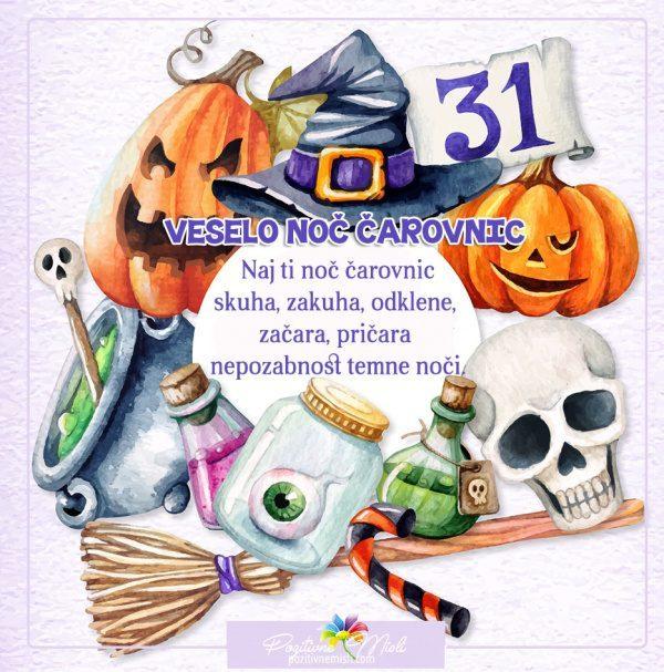 31. oktober - noč čarovnic - Naj ti noč čarovnic skuha, zakuha