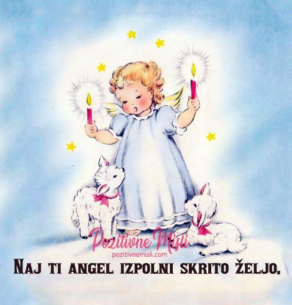Naj ti angel izpolni skrito željo