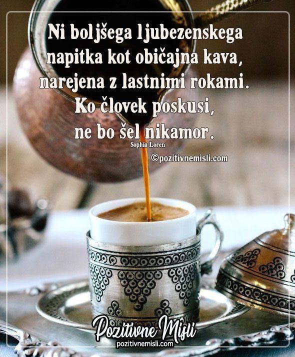 Ni boljšega ljubezenskega napitka kot obilajna kava