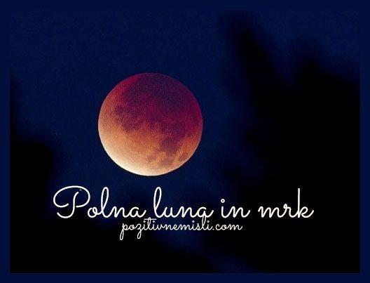 Polna luna in mrk - 30. november 2020 Kaj lahko danes storite