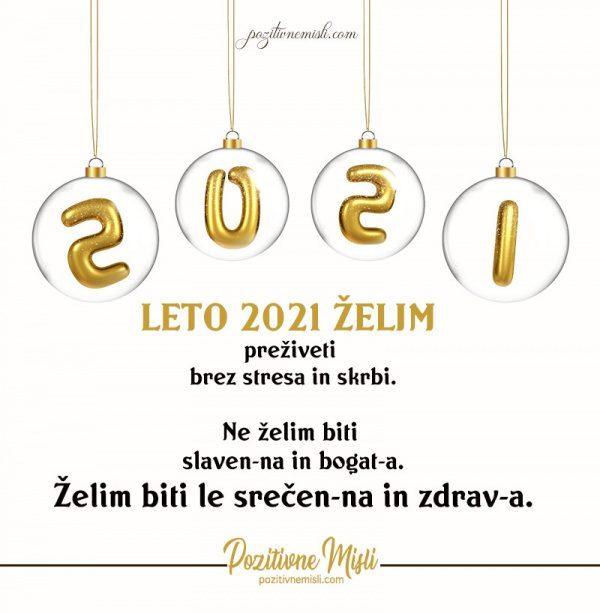 Novo leto 2021 - želje