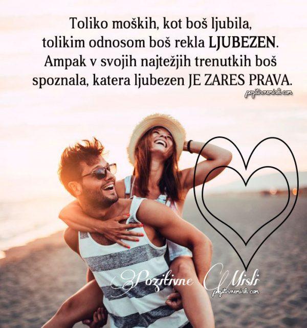 Misli o ljubezni  Toliko moških, kot boš ljubila