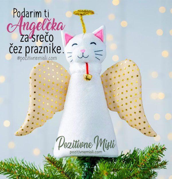 Božični Angel za srečo