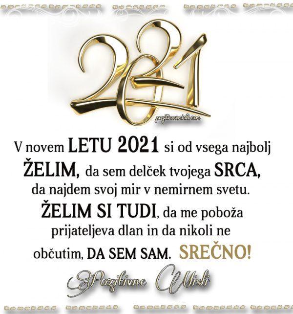 Novo leto 2021 - moja želja