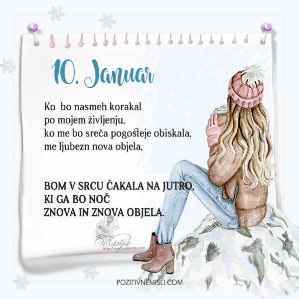10. januar ~ Pozitivčica za današnji dan