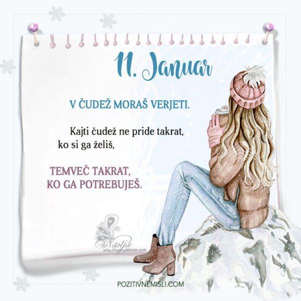 11. januar ~ Pozitivčica za današnji dan ~ Nastja Klevže