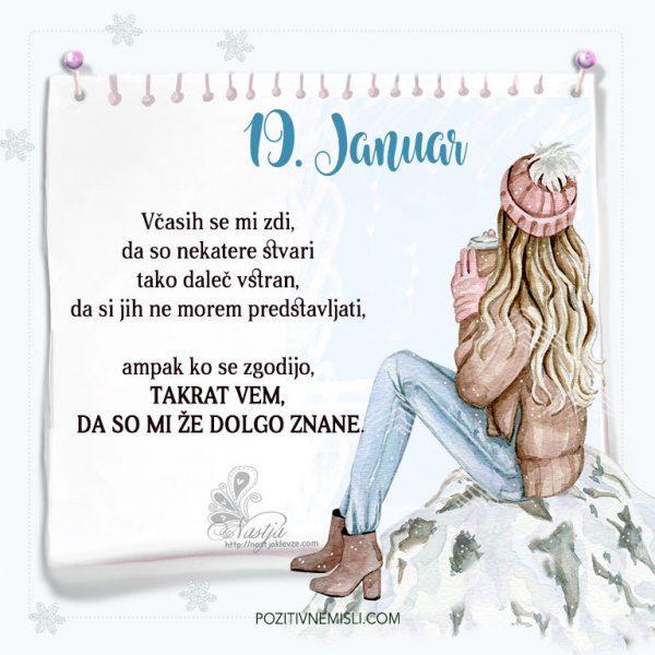 19. januar ~ Pozitivčica za današnji dan ~ Nastja Klevže