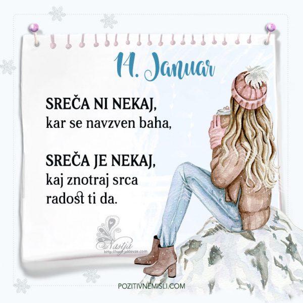 14. januar ~ Pozitivčica za današnji dan ~ Nastja Klevže