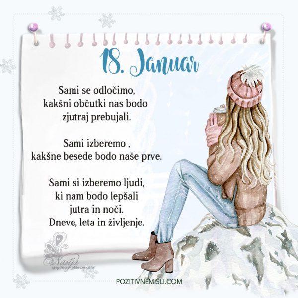 18. januar ~ Pozitivčica za današnji dan ~ Nastja Klevže