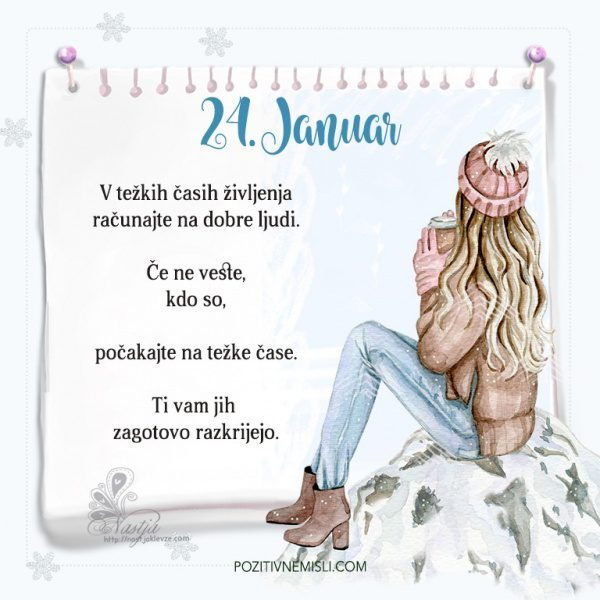 24. januar ~ Pozitivčica za današnji dan ~ Nastja Klevže