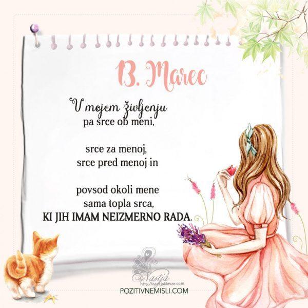 13. Marec  ~ Pozitivčica za današnji dan