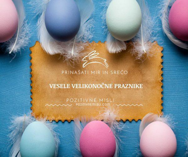 Vesele velikonočne praznike vam želimo