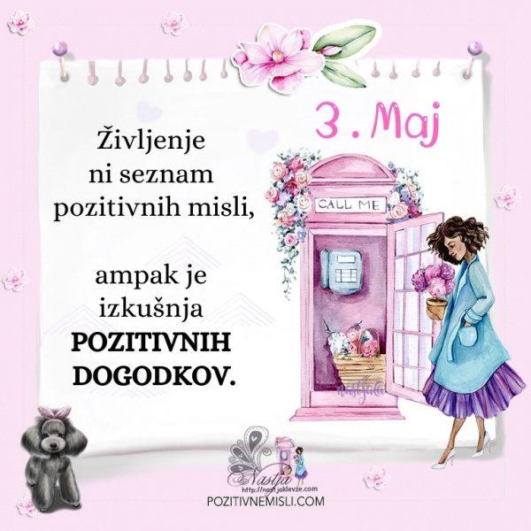 3. maj - Pozitivčica za današnji dan - Nastja Klevže