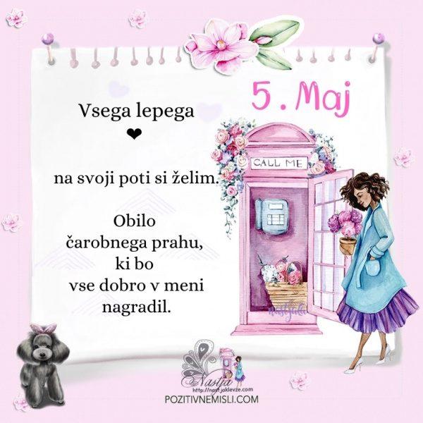 5. maj - Pozitivčica za današnji dan - Nastja Klevže