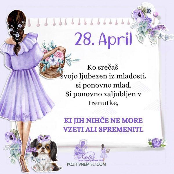 28. april - Pozitivčica za današnji dan