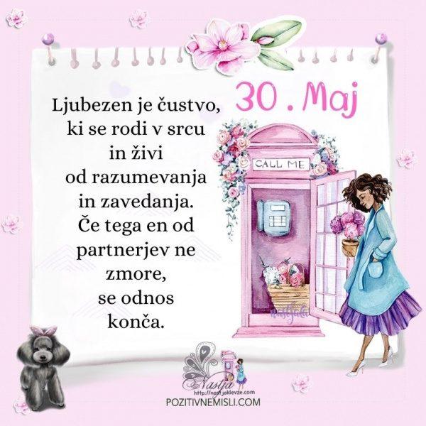 30. maj - Pozitivčica za današnji dan - Nastja Klevže