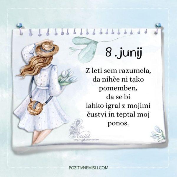 8. junij- Pozitivčica za današnji dan - Nastja Klevže