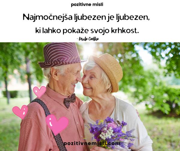 Misli o ljubezni - Najmočnejša ljubezen je ljubezen