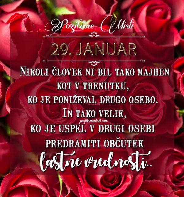 29. januar - 365 misli koledar lepih misli o življenju