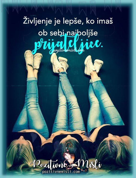 Življenje je lepše - misli o življenju in prijateljstvu