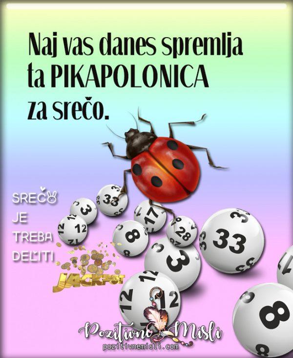 Eurojackpot - pikapolonica za srečo