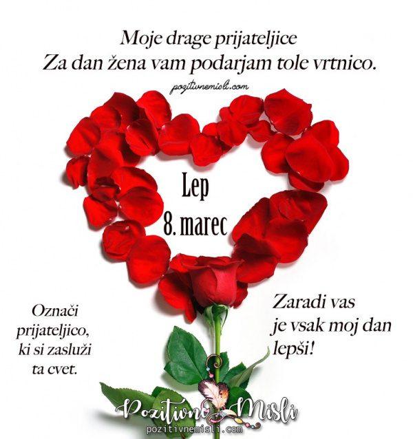 Vrtnica za 8. marec - dan žena