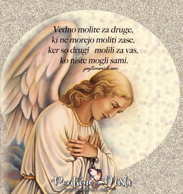 Vedno molite za druge - Molitev za bolne, žalostne, razočarane