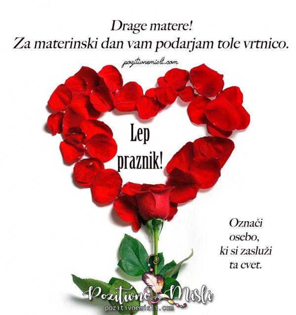 Vrtnica za materinski dan