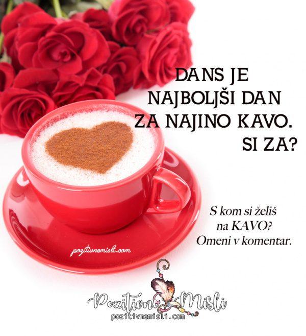 8. marec  Dan žena in dan za najino kavo