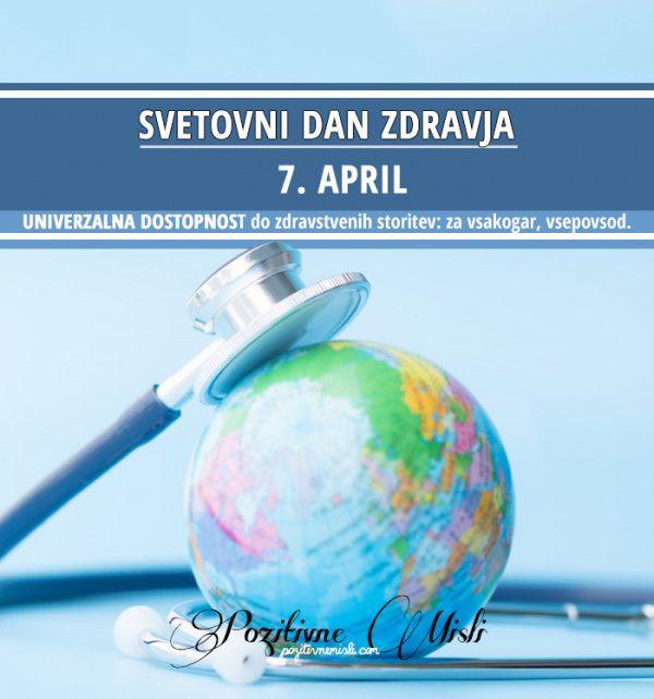 7. april – Svetovni dan zdravja